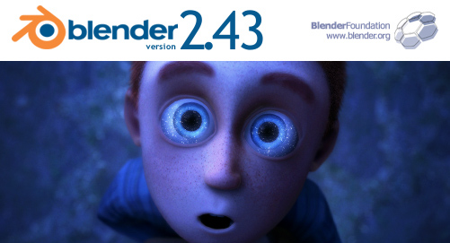 Blender 2.43 splash screen