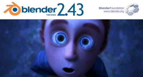 Blender 2.43 splash screen