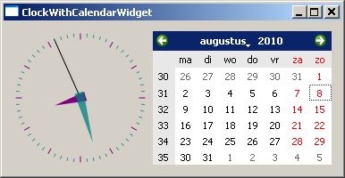 ClockCalendarWidget