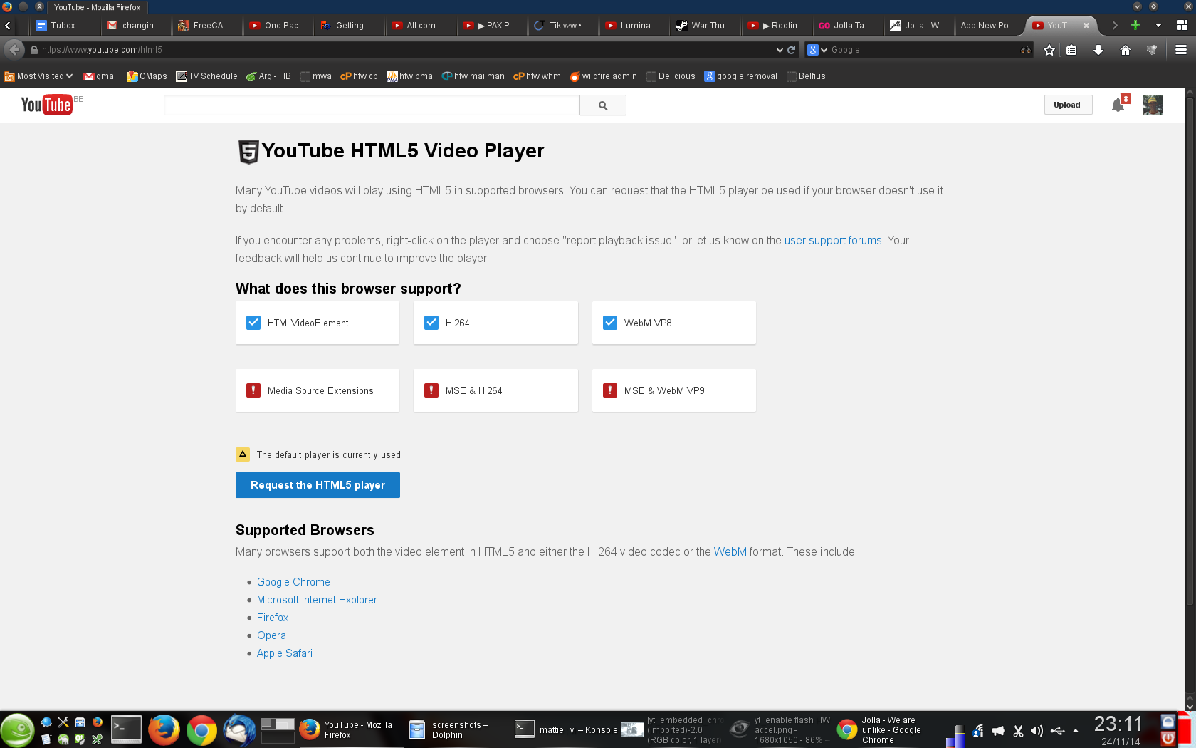 Activating HW acceleration for embedded YouTube videos | Mattiesworld