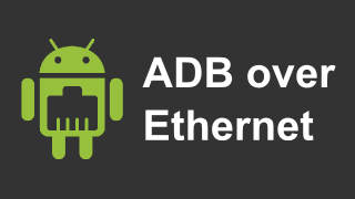 ADBoverEthernet on Google Play store