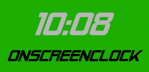 OnScreenClock OSD clock on Google Play store